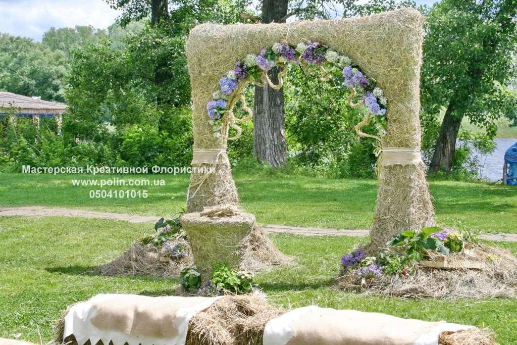 Фото 871227 в коллекции свадебное оформление зала,церемонии - Флорист Полина Школьникова