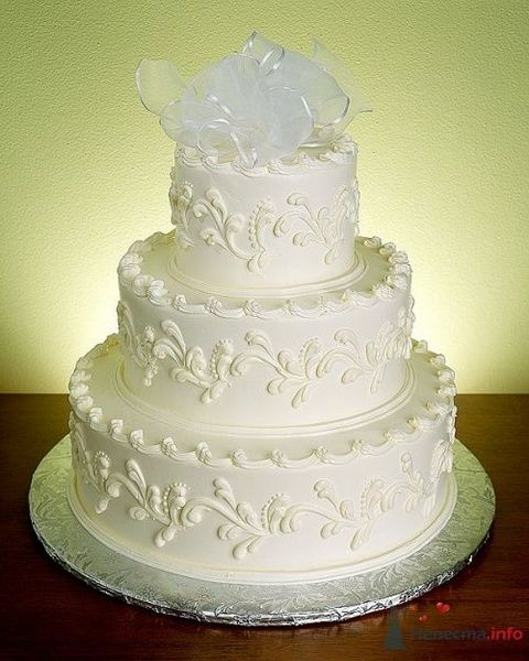 Фото 53838 в коллекции свадебные торты