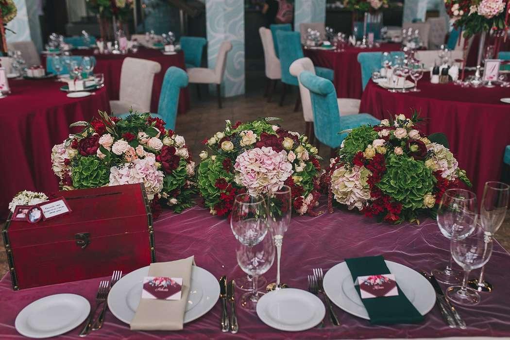 Фото 17087546 в коллекции Свадьба в ресторане «Макрель», п.Репино. - Студия декора и флористики DecorALL