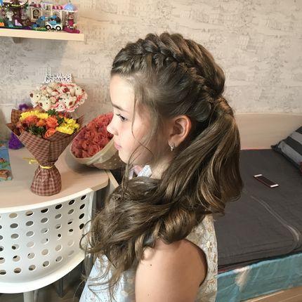 Детские укладки и причёски