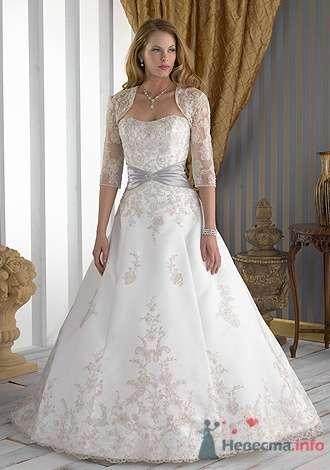 Свадебное платье Jacquelin Exclusive 9851 - фото 2698  Weddingprof - роскошные свадебные платья