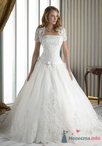 Свадебное платье Jacquelin Exclusive 9859 - фото 2702  Weddingprof - роскошные свадебные платья