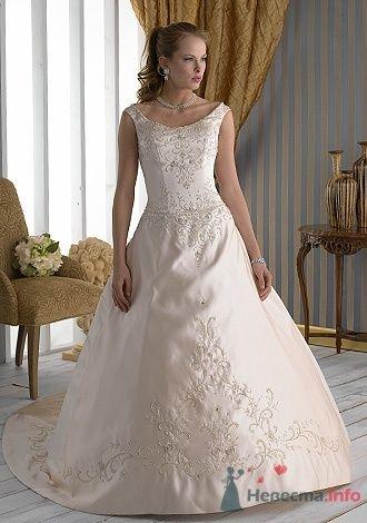 Свадебное платье Jacquelin Exclusive 9862 - фото 2703  Weddingprof - роскошные свадебные платья