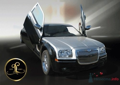 Chrysler 300C Серебристо-черный - фото 2811 LuxLimo - прокат лимузинов