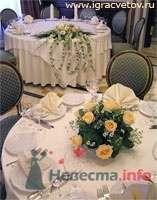 Оформление свадьбы - фото 2842 Игра Цветов - флористика