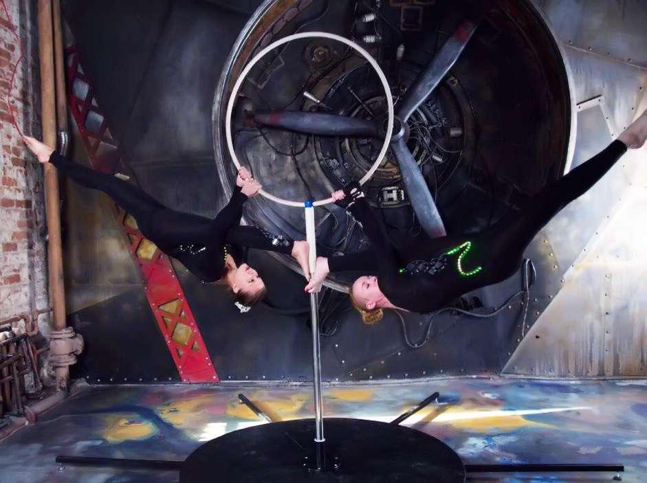 Фото 17120744 в коллекции Портфолио - Театр воздушного танца Eclipse show