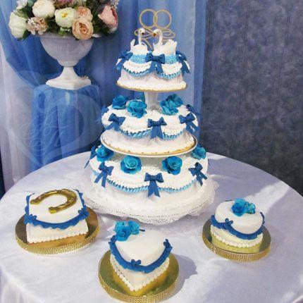 """Свадебный торт """"Барыня"""""""