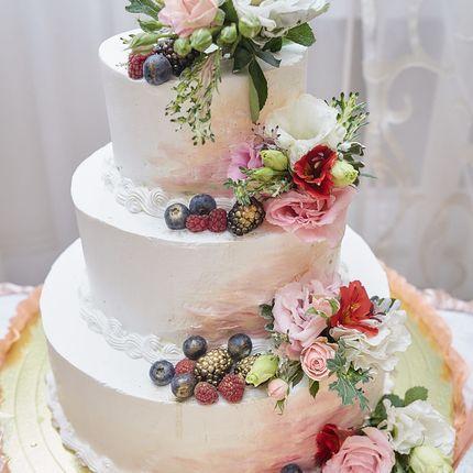 """Свадебный торт """"Райский"""""""