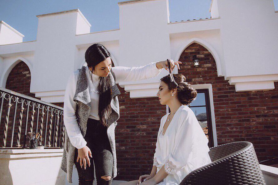 Фото 17153540 в коллекции Свадебный  макияж - Стилист - визажист Viktoria Pasechnik