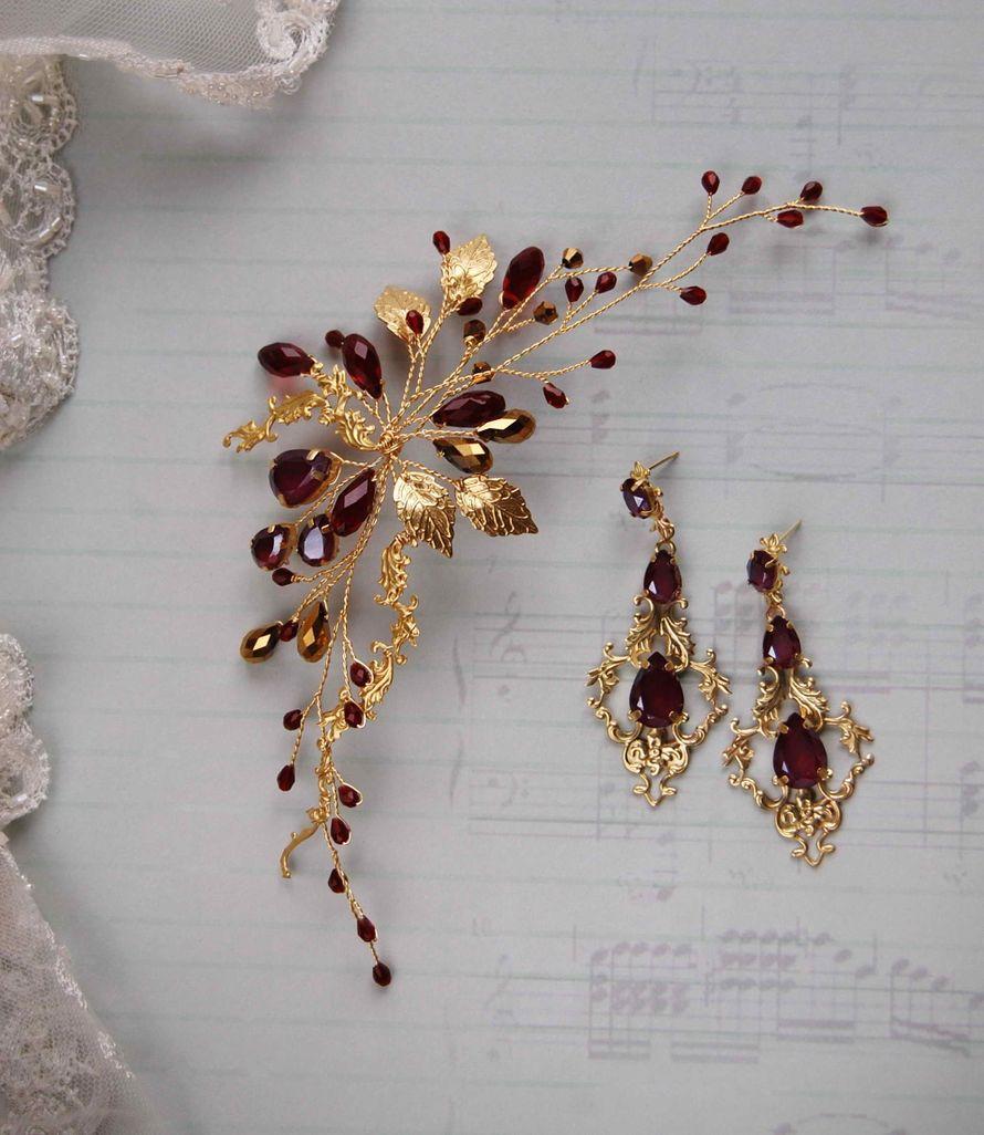 Фото 17200738 в коллекции Свадебные украшения - Мария Евсеенко - ювелирные украшения