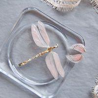 заколочка стрекоза из кристаллов swarovski от Марии Евсеенко