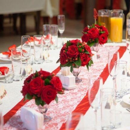 Цветочные композиции на гостевые столы, 2 шт.