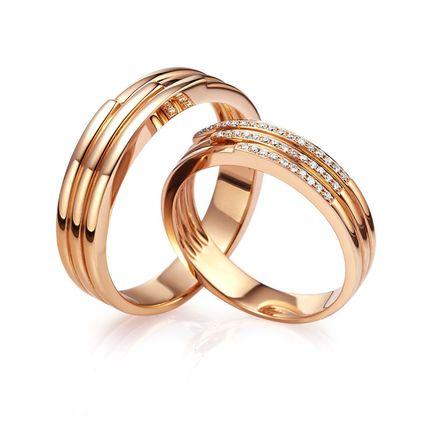 Обручальное кольцо с бриллиантом WRA880W