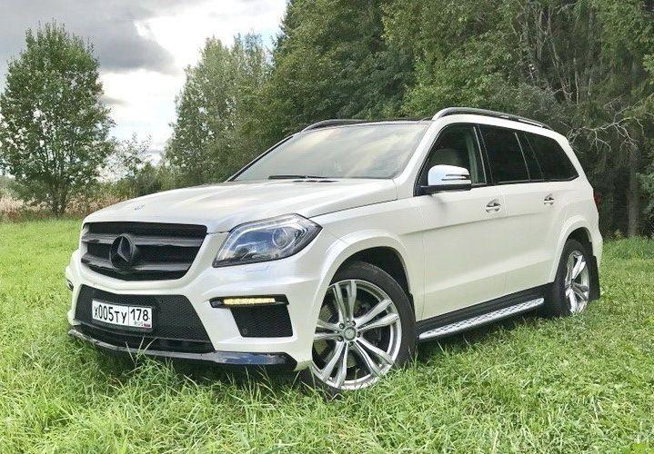 Mercedes GL 6 мест в аренду