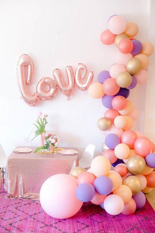 Фото 17357118 в коллекции Декор для свадьбы, девичника, фотосессии и др. - Pink Sky Balloons