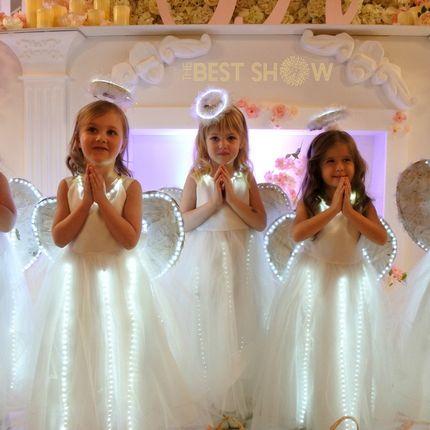 """Шоу на торжество """"Светящиеся ангелочки"""""""