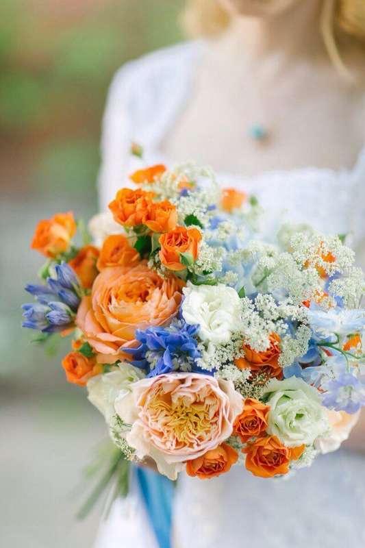 Фото 17396766 в коллекции Букеты невесты - Соцветие - полевые цветы и сухоцветы