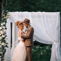 """декор свадебной фотосессии """"Принцесса на горошине"""""""