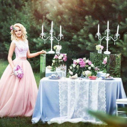 """Свадебное платье """"Пудра"""""""
