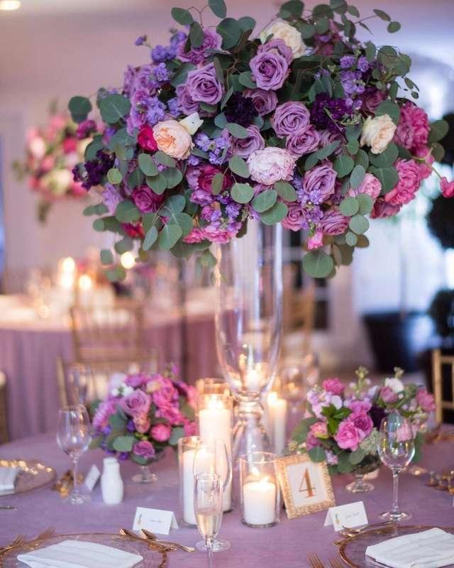 пример оформления violetшик - фото 17435108 G-holding - свадебное агентство