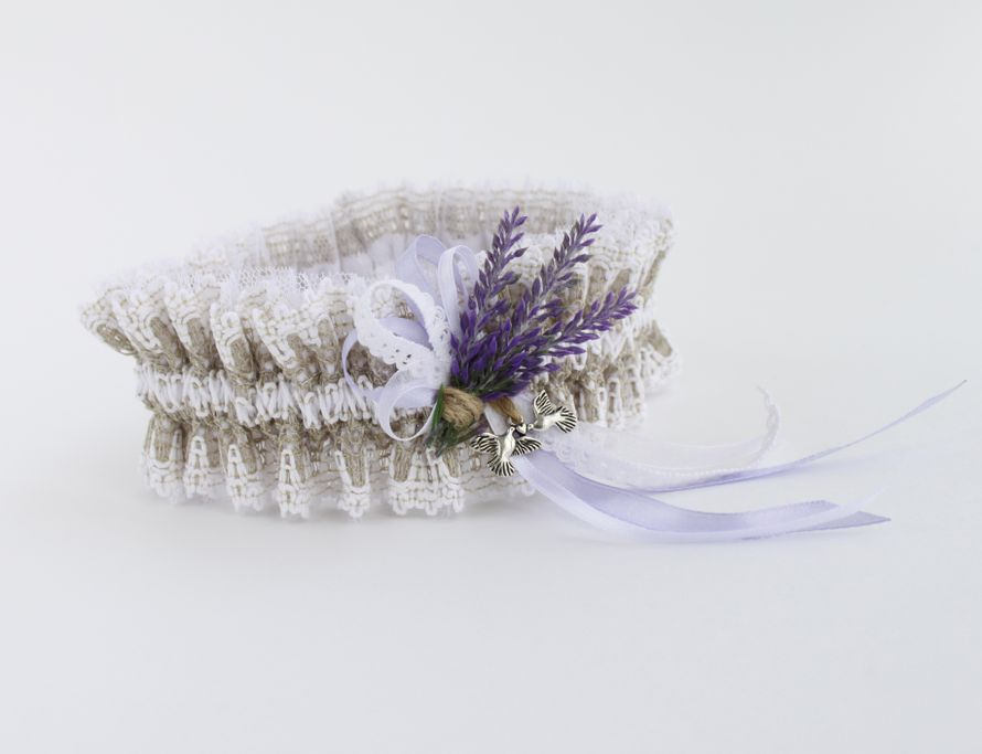 Фото 17474306 в коллекции Подвязки невесты - Mellnikova - свадебные аксессуары