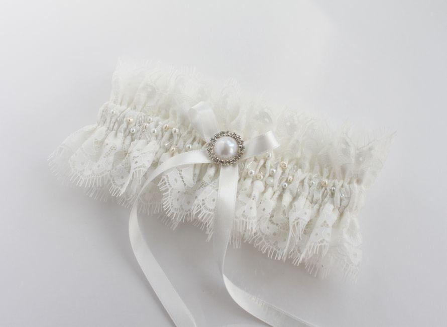 Фото 17483564 в коллекции Подвязки невесты - Mellnikova - свадебные аксессуары