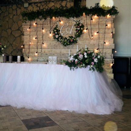 Оформление свадьбы в Эко стиле.