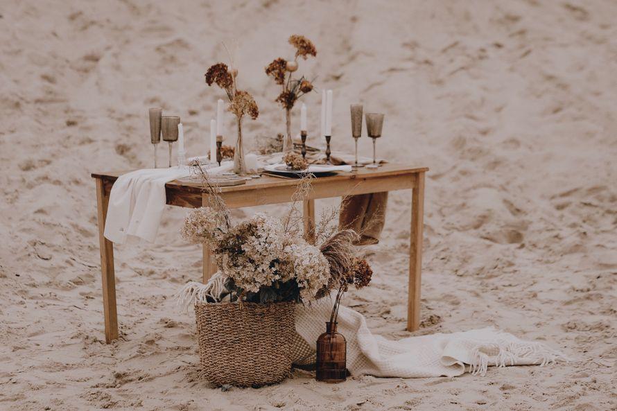 """Оформление свадебной фотосессии под ключ """"Сухоцветы"""""""