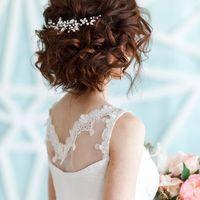 Свадебная веточка для волос 1000 руб.