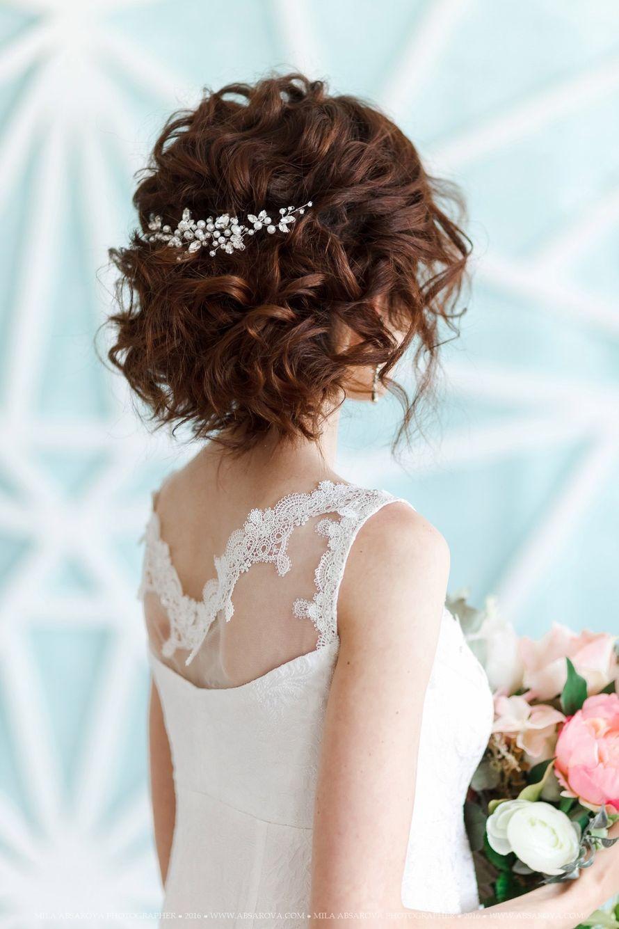 Свадебная веточка для волос 1000 руб. - фото 17548942 Екатерина Захарова - украшения для волос