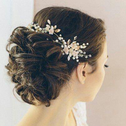 Свадебное украшение в волосы - фото 17548950 Екатерина Захарова - украшения для волос