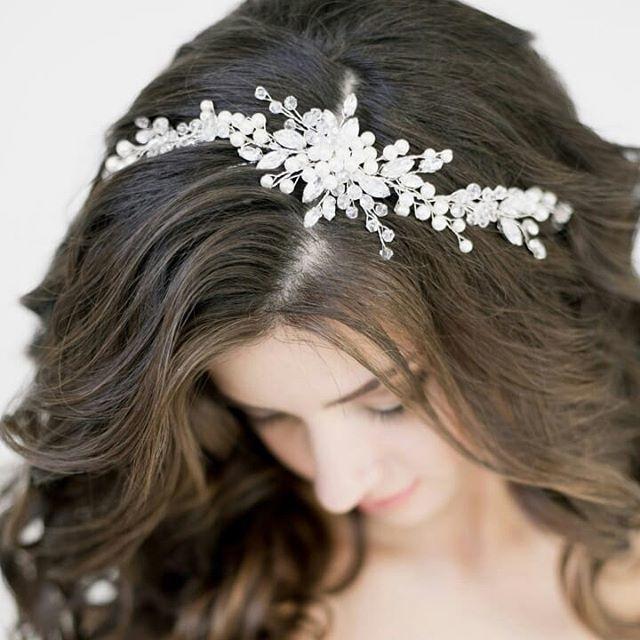 Свадебная диадема 1900 руб. - фото 17549076 Екатерина Захарова - украшения для волос