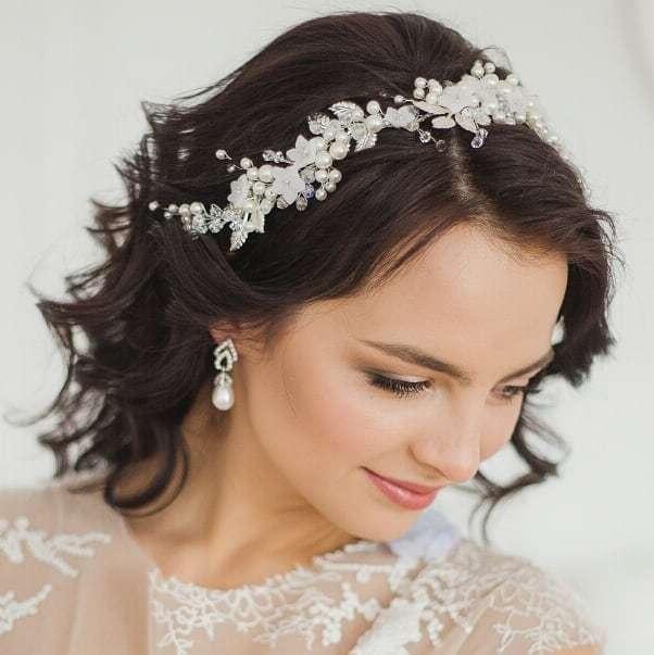 Свадебный венок для прически. Стоимость 1900 руб. - фото 17549080 Екатерина Захарова - украшения для волос