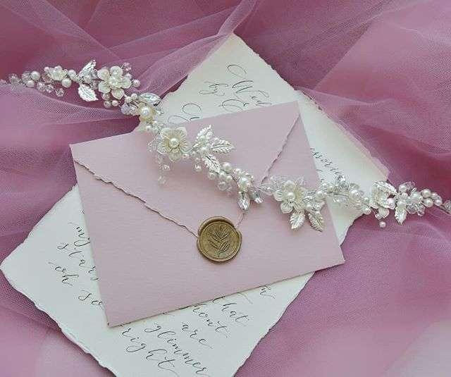 Свадебный веночек для невесты 2100 руб. - фото 17549086 Екатерина Захарова - украшения для волос