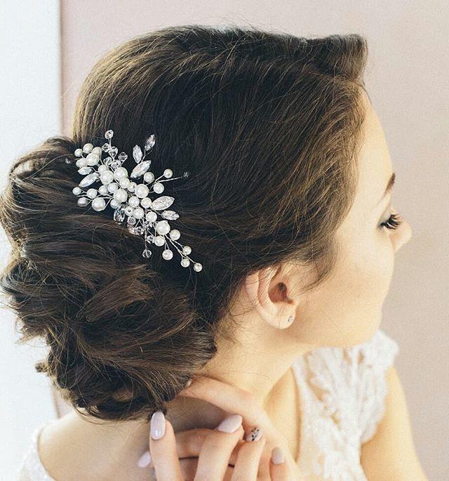 Свадебная веточка в прическу Стоимость 1200 руб. - фото 17549118 Екатерина Захарова - украшения для волос