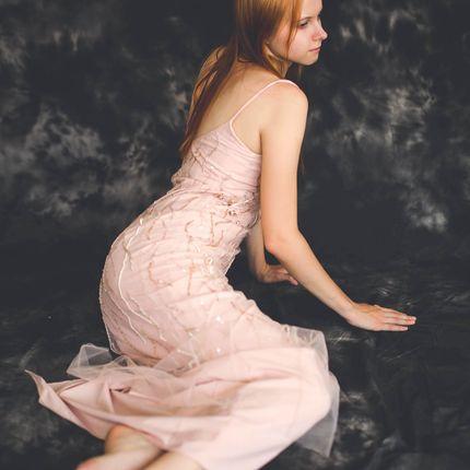 Платье Афродита с ручной вышивкой