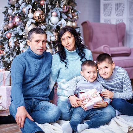 Фотосъемка неполного дня - пакет Семейный