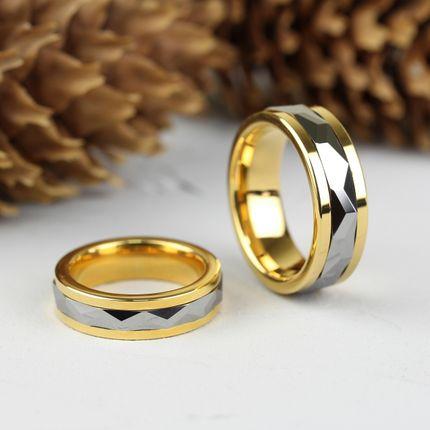 Вольфрамовое кольцо с вращающейся вставкой (R-TG-1224)