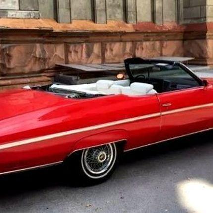 386 Ретро авто кабриолет Chevrolet Impala в аренду