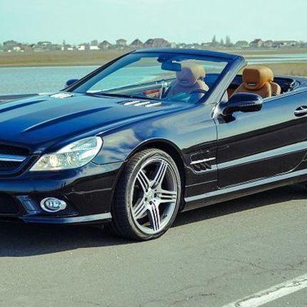 071 Mercedes SL500 черный аренда