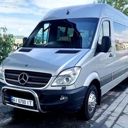 275 Микроавтобус Mercedes Sprinter VIP серебро
