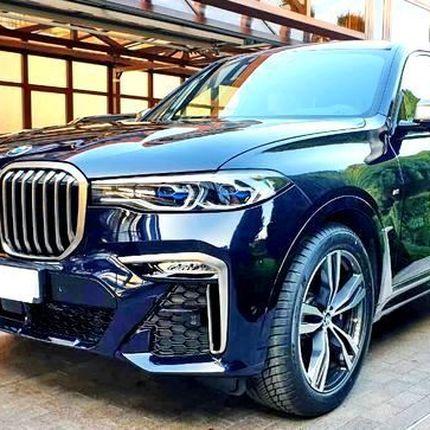 377 BMW X7 2019 год черный в аренду