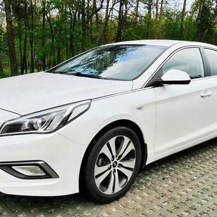 233 Hyundai Sonata белая 2015 аренда
