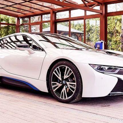 349 BMW I8 2017 год аренда спортивных автомобилей