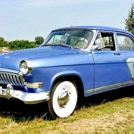 129 Volga GAZ 21 голубая на свадьбу прокат аренда