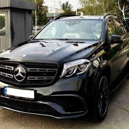 208 Внедорожник Mercedes GLS 63 AMG черный 2018 аренда