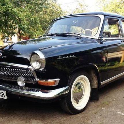 215 Volga 21 Black аренда ретро авто