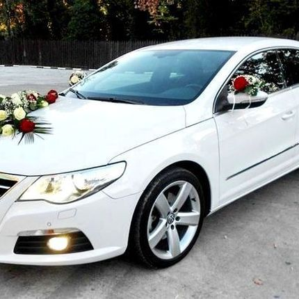 099 Volkswagen Passat сс белый в аренду