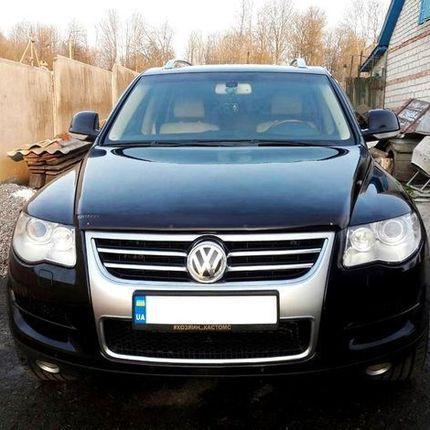 264 Внедорожник Volkswagen Touareg в аренду