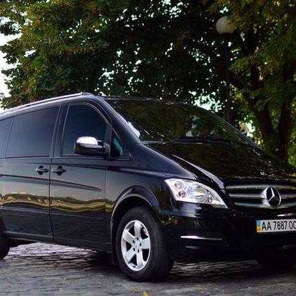 287 Микроавтобус Mercedes Viano black в аренду
